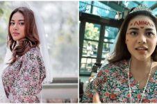 8 Momen seru Aurel Hermansyah diarak keliling mal saat bridal shower