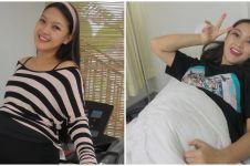 9 Momen seru Ana Riana jelang melahirkan, joget Tiktok hingga olahraga