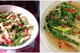 10 Resep tumis sayur saus tiram ala rumahan, enak dan praktis