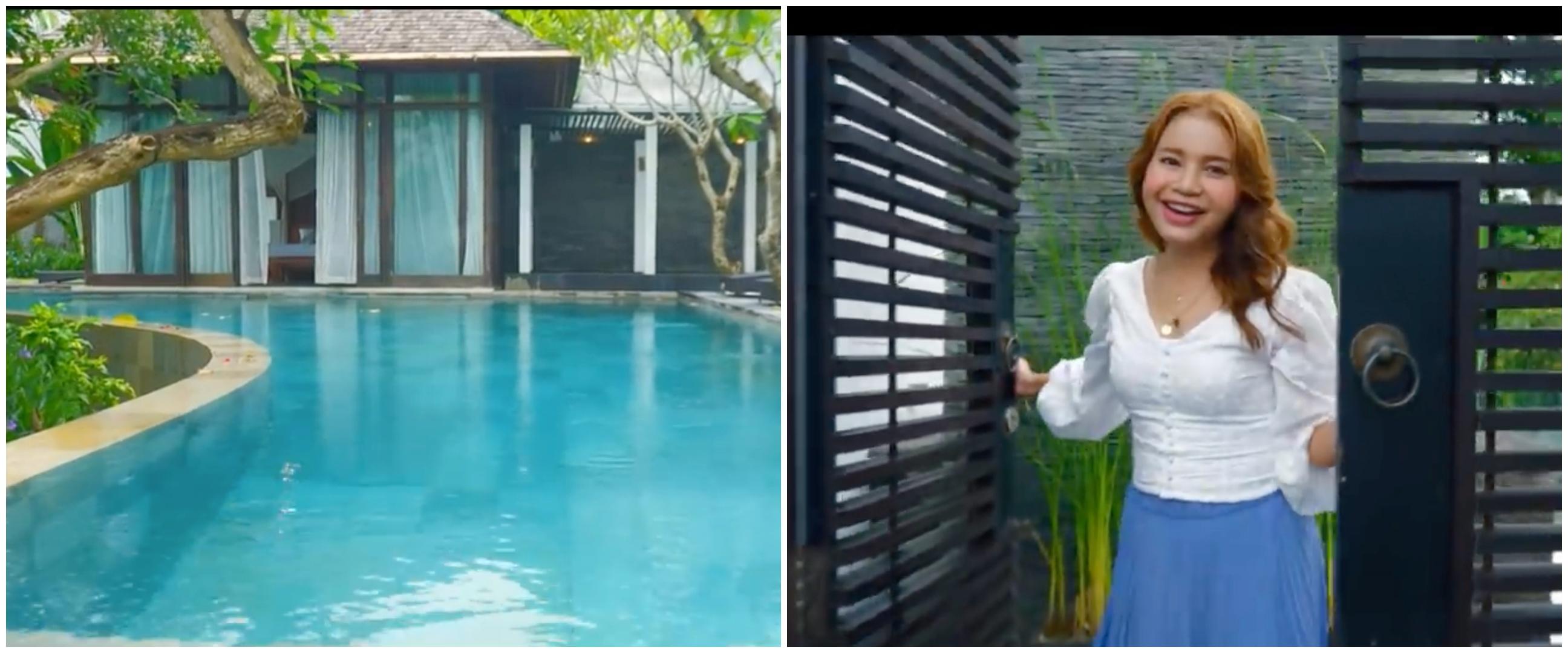 10 Penampakan vila Rossa di Bali, area jacuzzinya curi perhatian