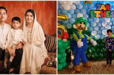 7 Potret perayaan ulang tahun Jan Ethes ke-5, kuenya curi perhatian