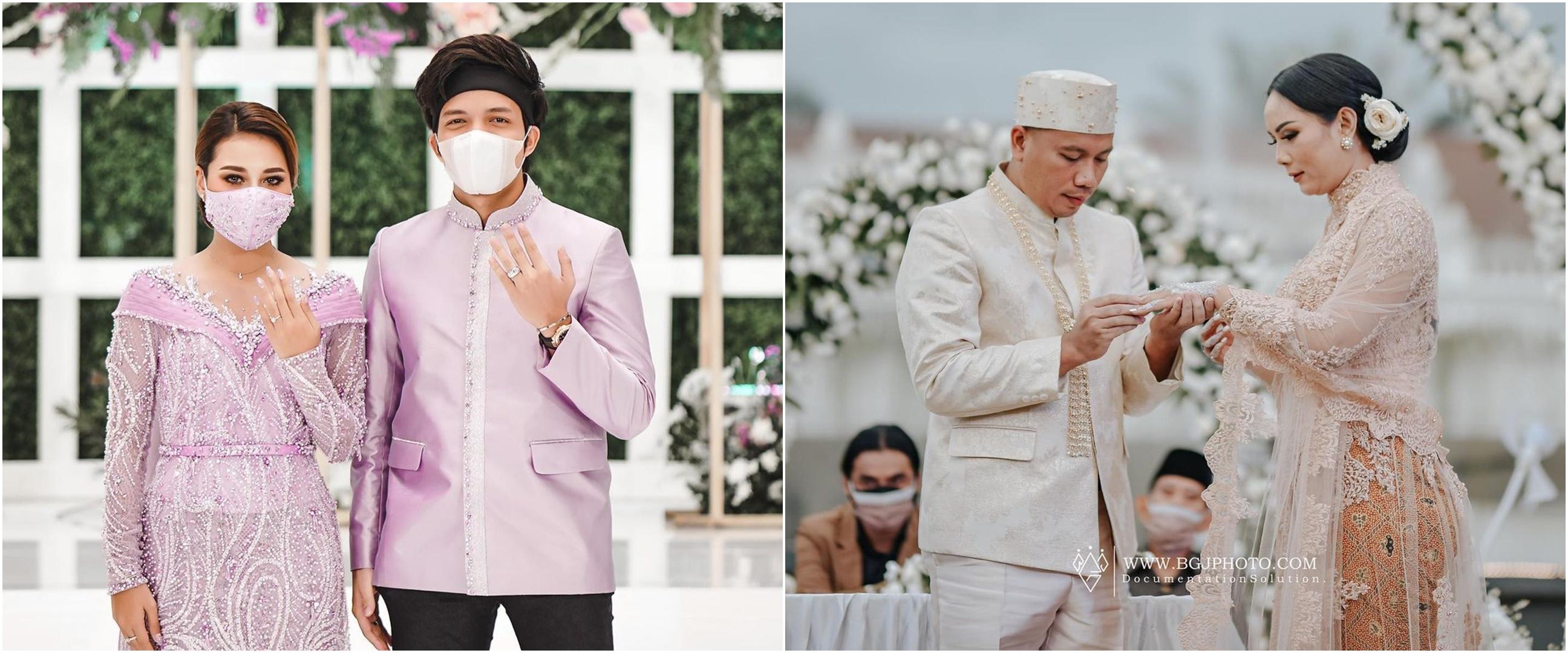15 Seleb siarkan proses lamaran & pernikahan live di berbagai media