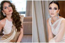 8 Penampilan Luna Maya dan Cinta Laura pakai baju India, jadi sorotan