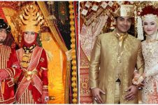 Beda gaya 5 seleb menikah dengan ustaz, elegan dalam beragam tema