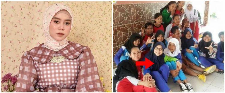 7 Potret lawas Lesty Kejora bareng geng SMA, gaya hijabnya ikonik