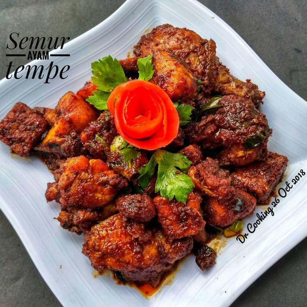 resep olahan ayam dan tempe © Instagram