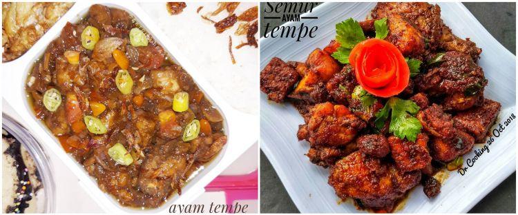 12 Resep olahan ayam dan tempe, enak, sederhana, dan praktis