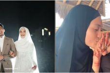 7 Potret Ustaz Syam & Jihan Salsabila usai menikah, makin mesra
