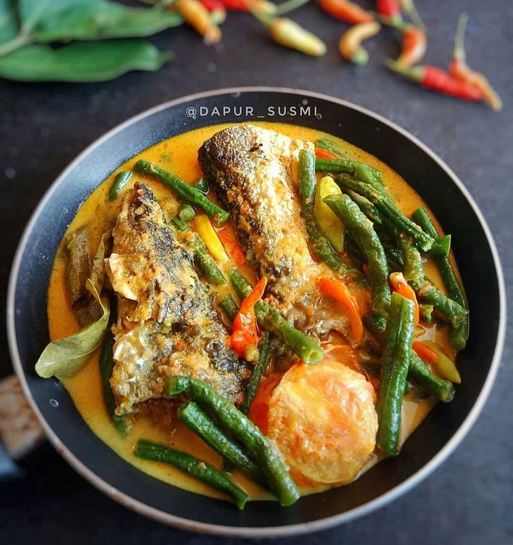 Resep ikan gulai kuning ala rumahan Instagram