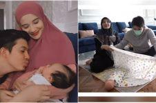 10 Momen Zaskia Sungkar & Irwansyah belajar merawat bayi, undang guru