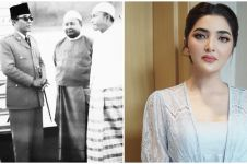 Diusulkan jadi pahlawan, ini 4 potret kakek Ashanty dampingi Soekarno