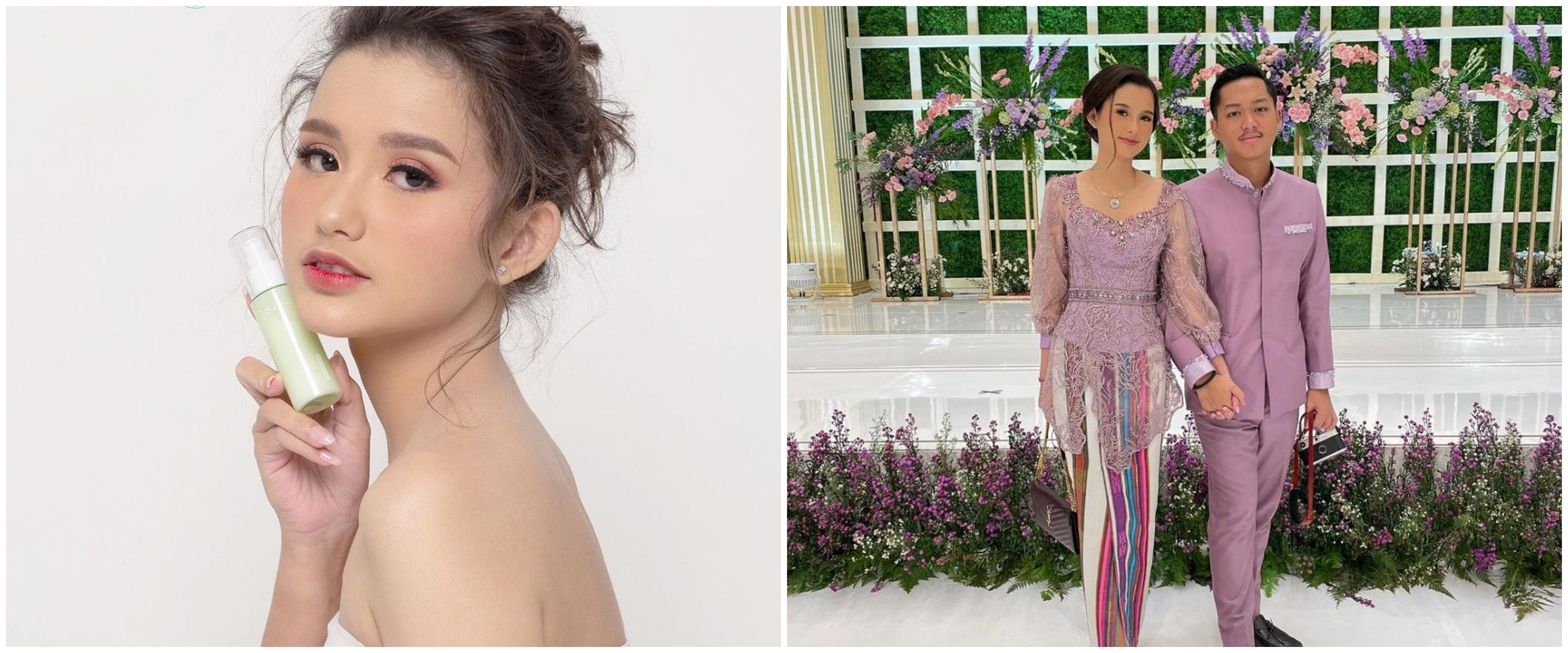 6 Pesona Sarah Menzel jadi bintang iklan kosmetik, dipuji bak barbie
