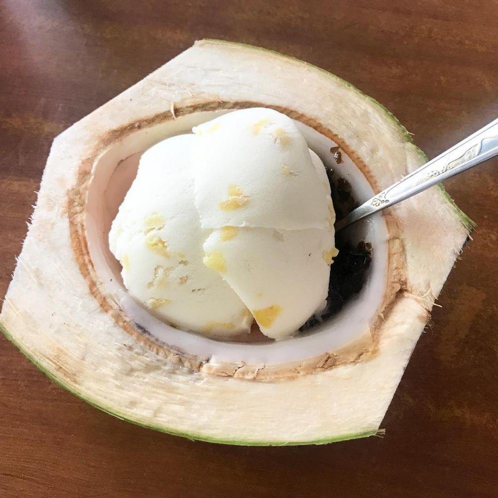 Resep es krim buah ala rumah Instagram
