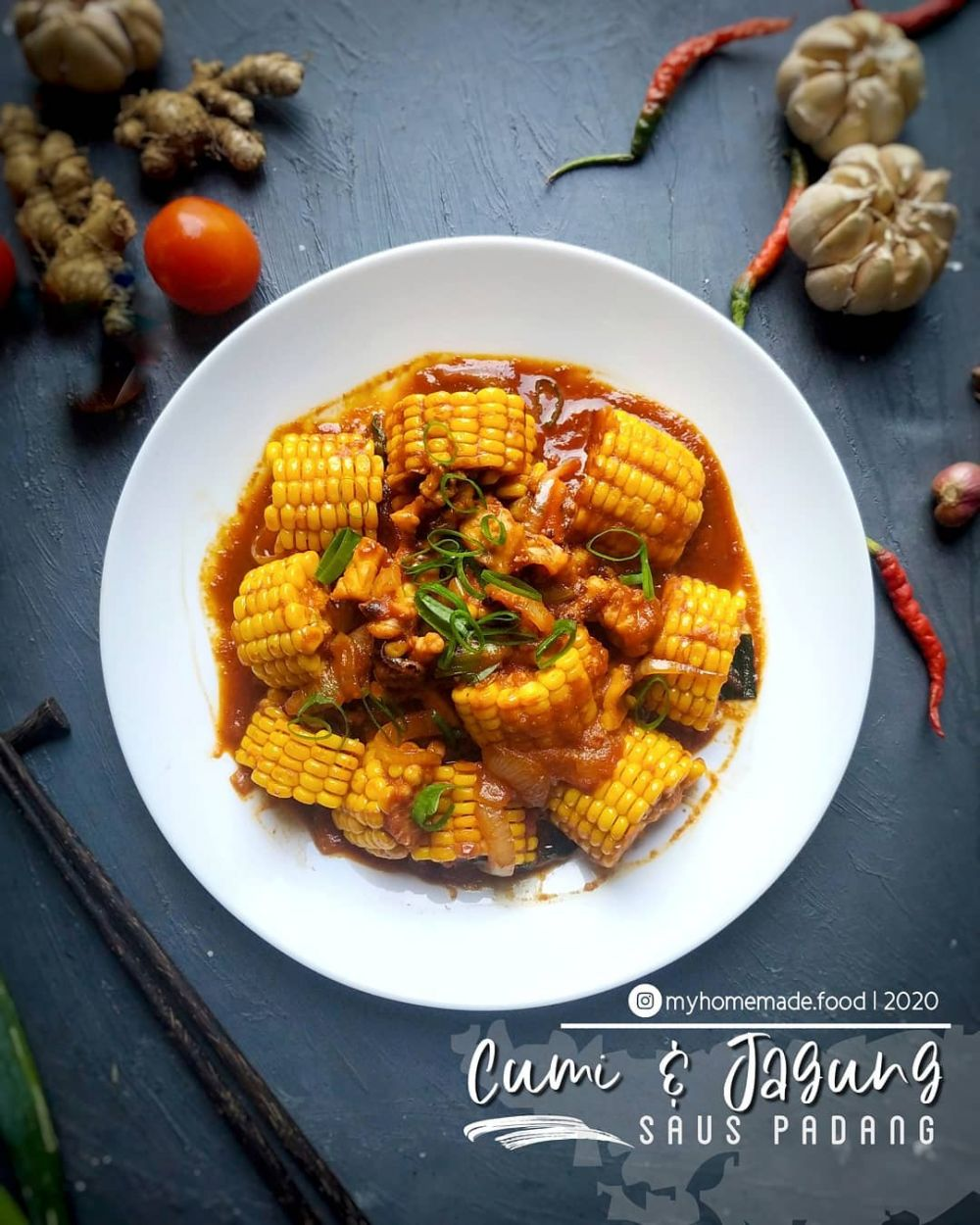 Resep sayur jagung ala rumahan © Instagram