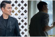 Ungkapan Andy Lau saat jalani isolasi mandiri di hotel jadi sorotan