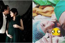 7 Potret perjalanan kehamilan Angelica Simperler hingga melahirkan