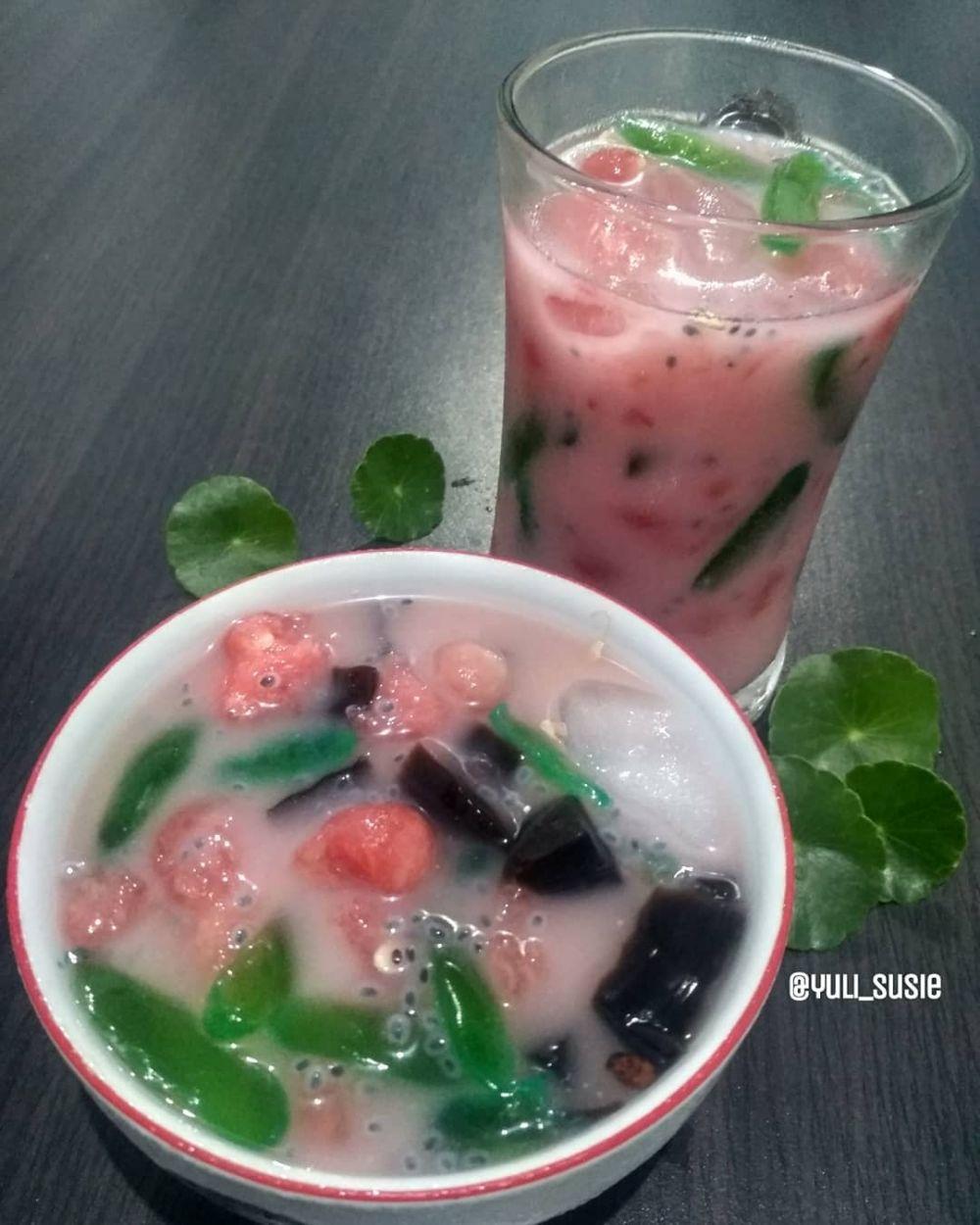 resep minuman es kolang kaling Instagram/ cookpad © 2021 brilio.net