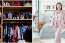 Intip 10 potret walk in closet Andien Aisyah, ada ruang declutter-nya