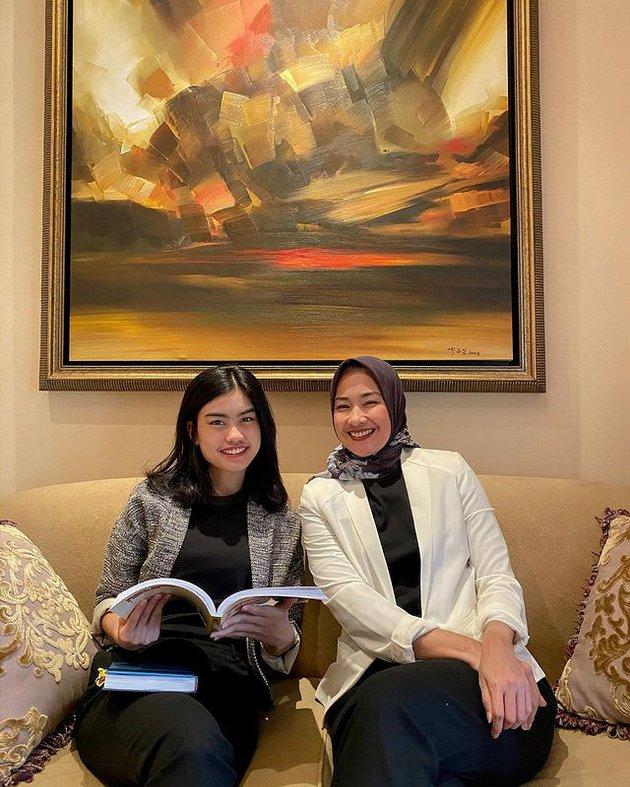 mantan Putri Indonesia dan anak © 2021 brilio.net