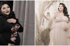 10 Potret maternity Wendy Lo adik Sarwendah berbagai tema, elegan