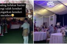 Kisah lucu cewek salah datang ke acara nikahan, sempat makan sepiring
