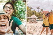 8 Momen Regina Ivanova honeymoon di Bali, jalani spa bareng suami