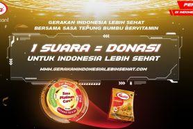 1 Juta petisi untuk Gerakan Indonesia Lebih Sehat