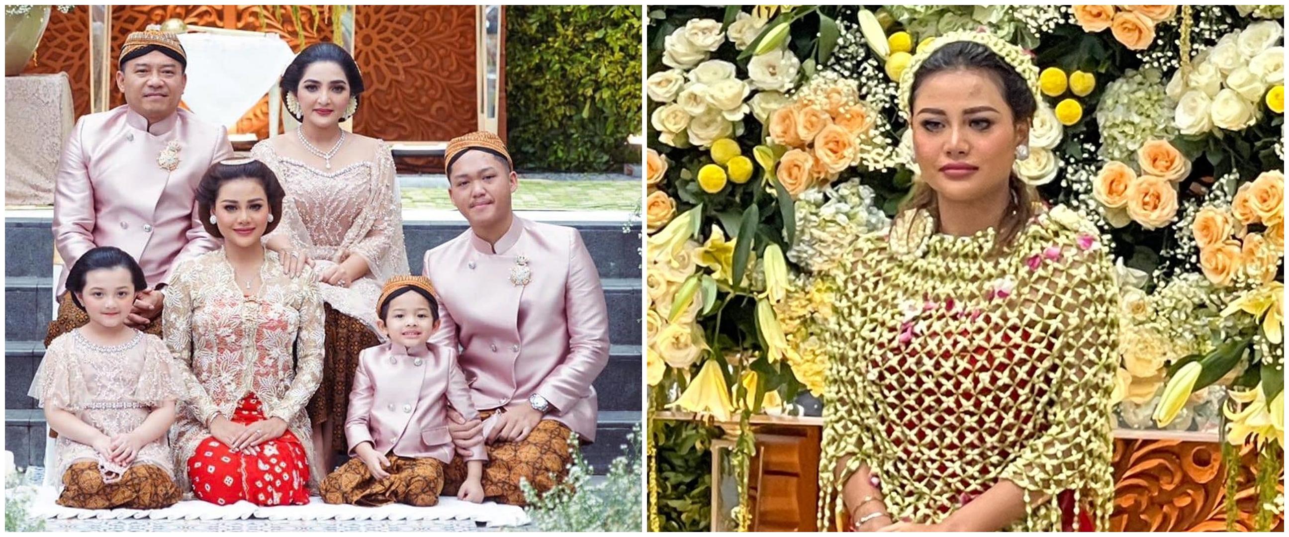 12 Momen siraman Aurel Hermansyah jelang nikah, penuh haru