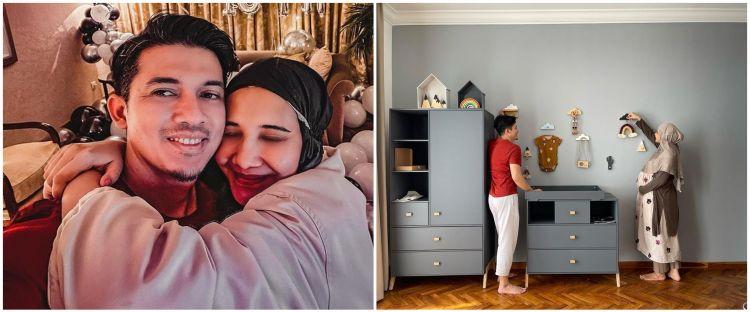 9 Penampakan kamar bayi anak Zaskia Sungkar, hasil desain sendiri