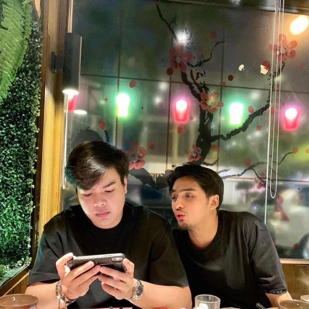 Potret kompak Ricky Harun dan Jeje Soekarno © Instagram