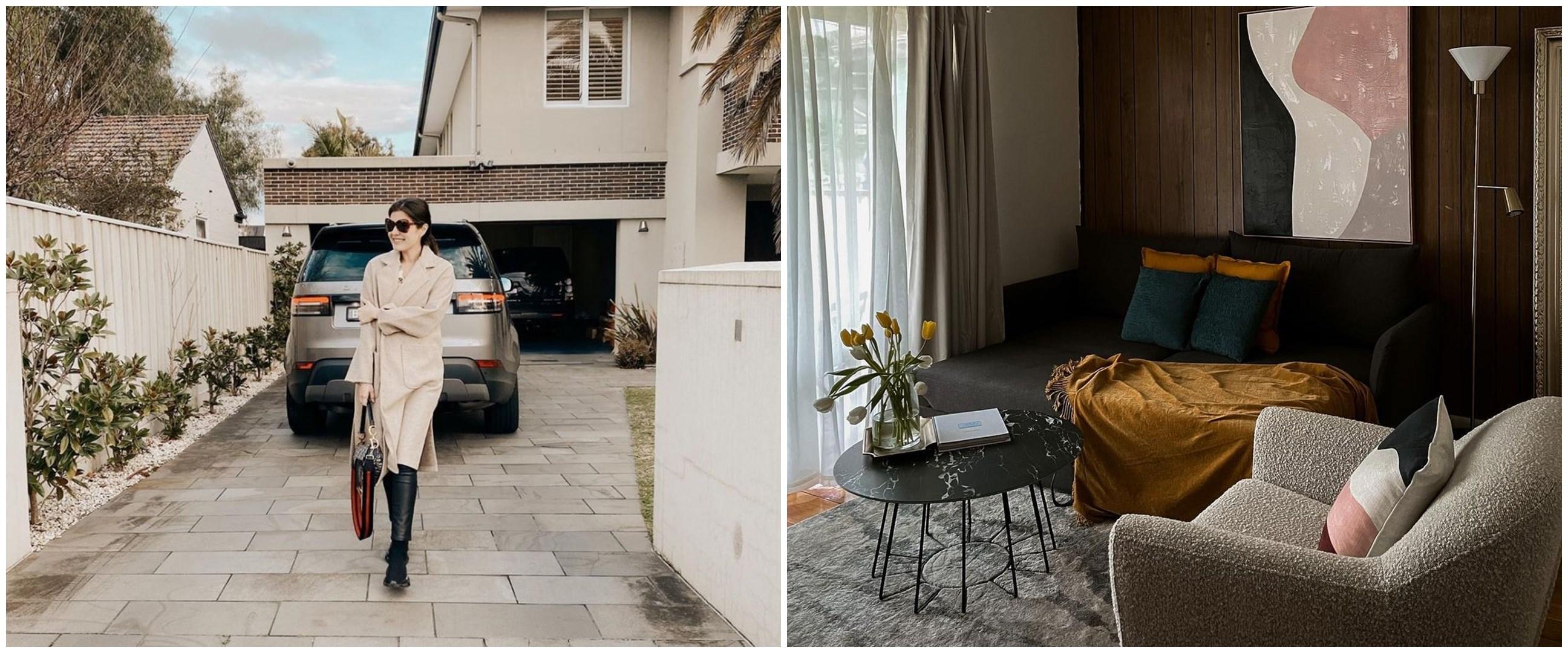 Potret rumah 9 seleb Tanah Air di Australia, simpel dan Instagramable
