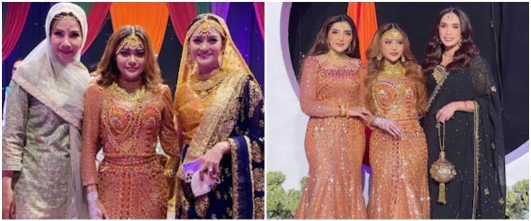 Gaya 10 seleb hadiri Henna Night Aurel Hermansyah, elegan dan glamor