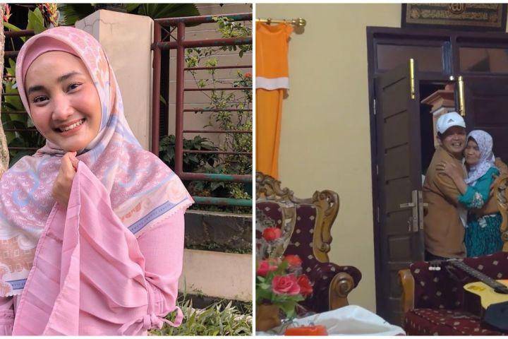 8 Penampakan rumah Fatin Sidqia di kampung halaman, sederhana