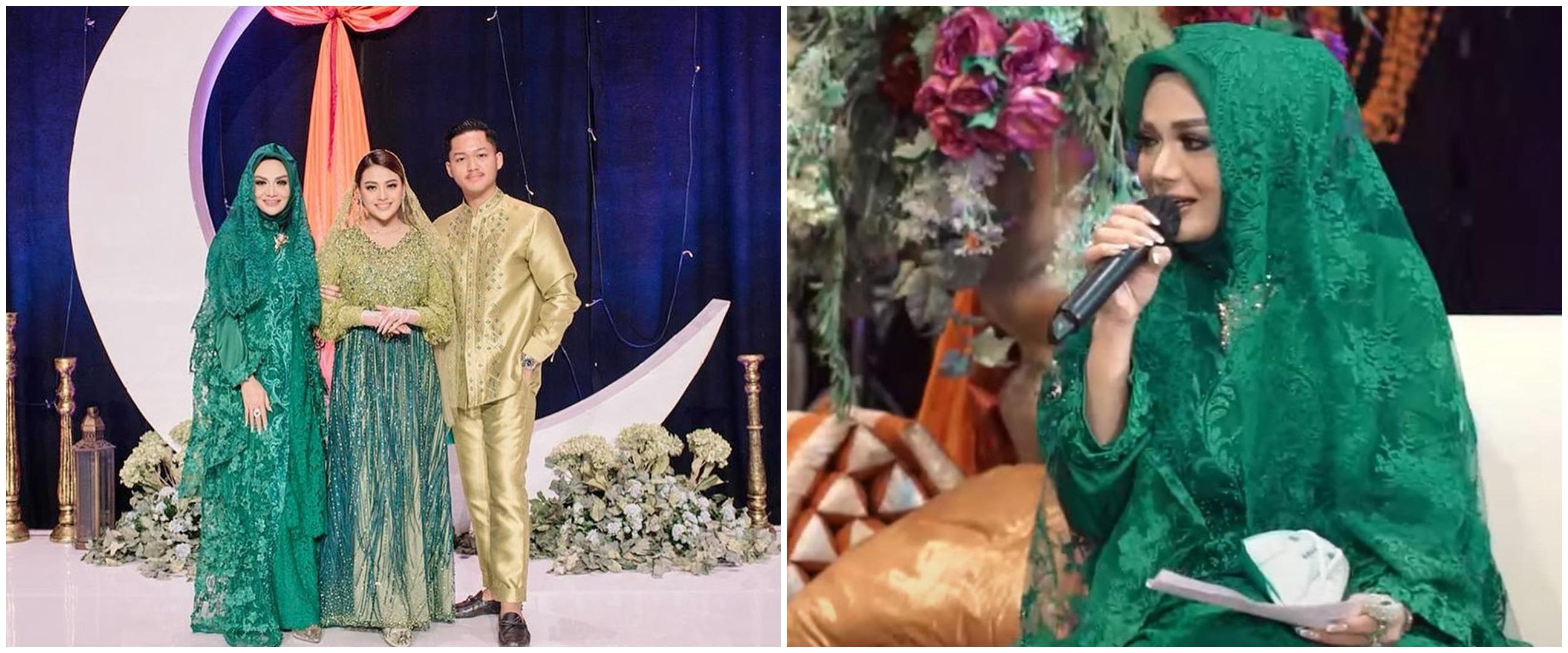 10 Momen Krisdayanti di momen pengajian Aurel Hermansyah, penuh haru
