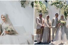 10 Momen resepsi nikahan Ikbal Fauzi 'Ikatan Cinta', bernuansa outdoor