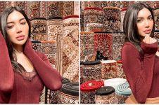 7 Potret Millen Cyrus di Henna Night Aurel, kakinya curi perhatian