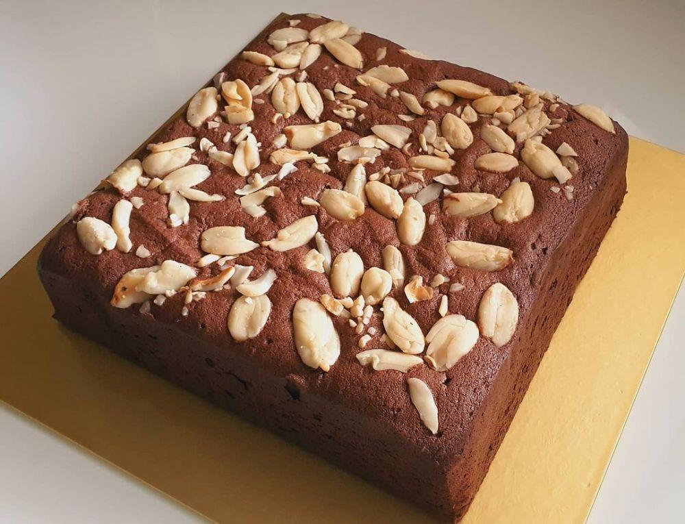 resep brownies panggang sederhana Instagram © 2021 brilio.net