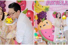 10 Momen perayaan ulang tahun Anak Yuanita Christiani, bertema buah