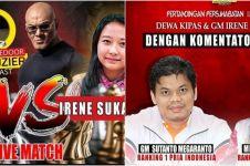1,2 juta orang saksikan duel Dewa Kipas dengan GM Irene Sukandar