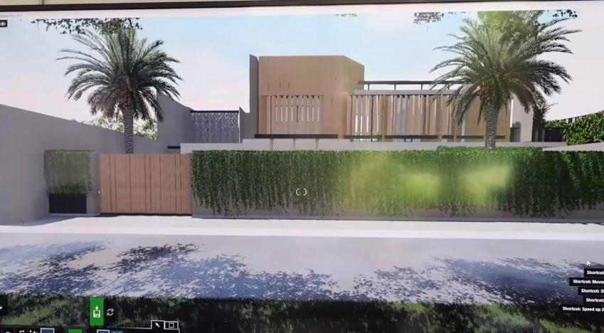 Penampakan desain rumah Titi Kamal, mewah dan penuh tanaman YouTube© 2021 brilio.net