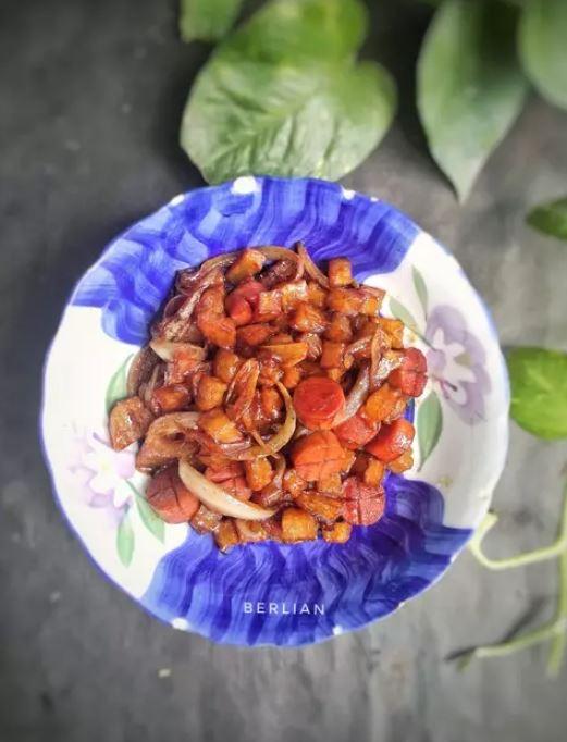 Resep masakan bumbu kecap ala rumahan Instagram ; cookpad © 2021 brilio.net