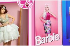 Gaya pemotretan 10 seleb jadi Barbie, bak boneka hidup