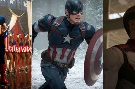 Kostumnya canggih, 5 transformasi Captain America dari masa ke masa