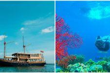 Intip 5 fasilitas mewah kapal phinisi untuk explore Kepulauan Seribu