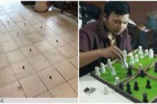 11 Potret orang main catur ini nyelenehnya bikin senyum nggak paham