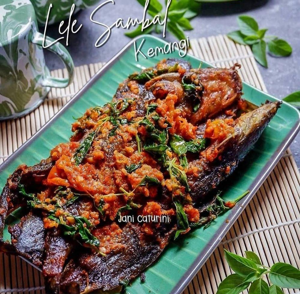 Resep kreasi lele goreng © Instagram