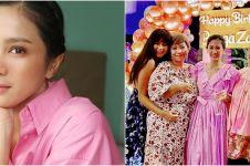 8 Momen ulang tahun Bunga Zainal ke-34, gelar pesta meriah di Bali