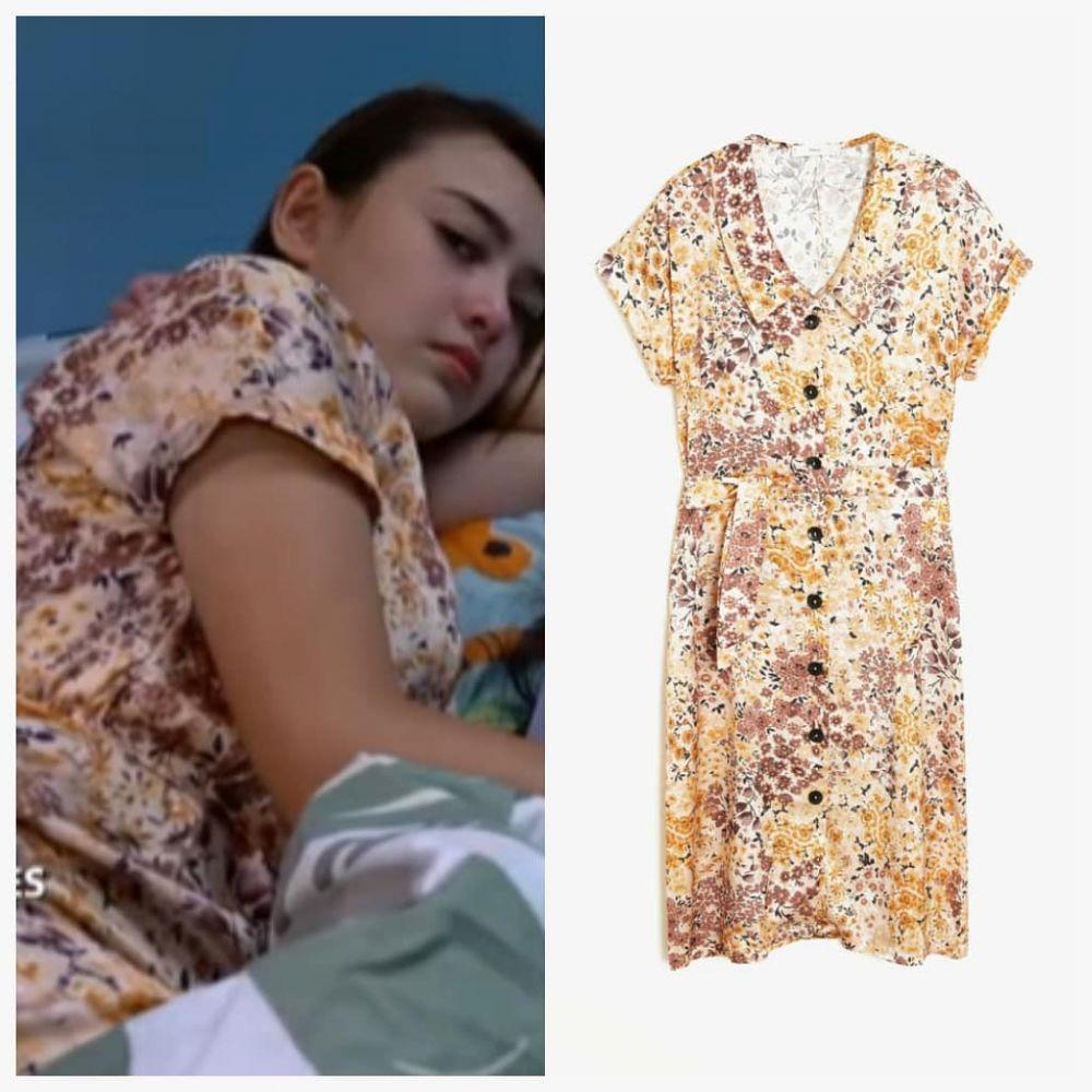 harga dress Amanda Manopo di bawah Rp 500 ribu © 2021 brilio.net Instagram