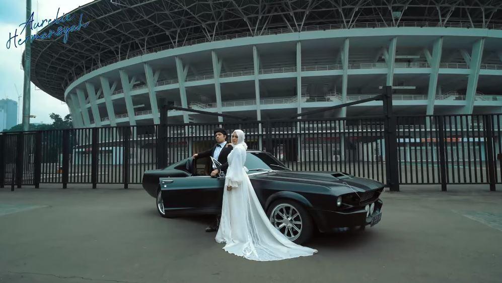 prewedding Atta Aurel di GBK © YouTube
