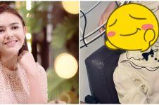9 Pesona Amanda Manopo dengan rambut berponi, parasnya bak boneka
